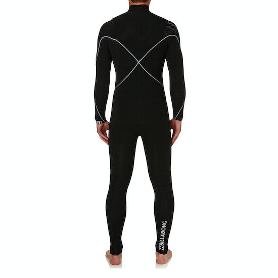 Billabong 5-4mm 2018 Furnace Carbon Comp Chest Zip Wetsuit