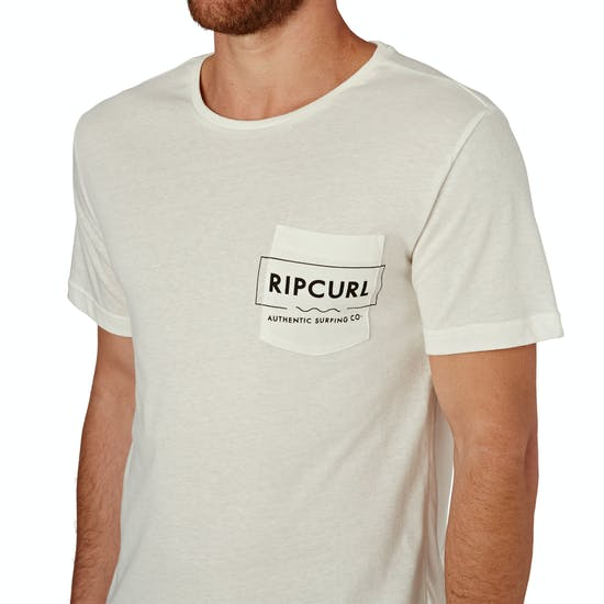 Rip Curl Box Over Pocket Mens Short Sleeve T-Shirt