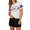 Volcom GMJ Womens Short Sleeve T-Shirt - Star White