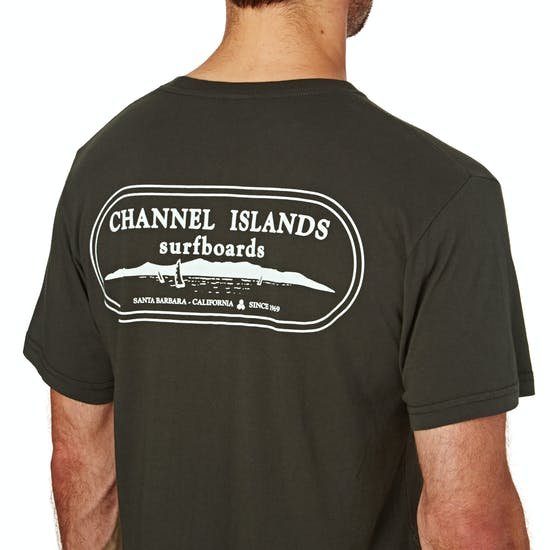 T-Shirt à Manche Courte Channel Islands Oval