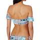 Seafolly Silk Market Cold Shoulder Bandeau Bikini Tops