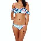 Seafolly Tropical Vacay Cold Shoulder Bandeau Bikini Top