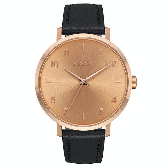 Nixon Arrow Leather Ladies Watch