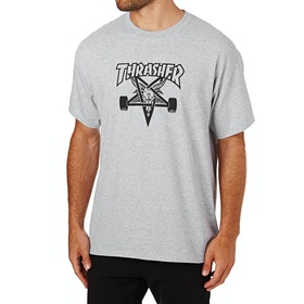 Thrasher Skategoat Short Sleeve T-Shirt - Grey