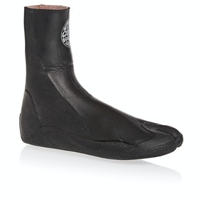 Rip Curl Rubber Soul Plus 3mm Split Toe Wetsuit Boots - Black