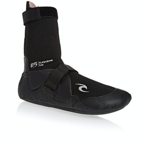 Rip Curl Flashbomb 5mm Round Toe Wetsuit Boots - Black