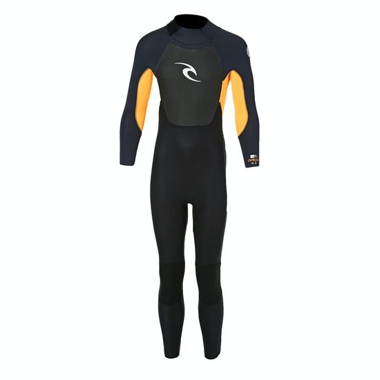 Rip Curl Omega 4/3mm Back Zip Kids Wetsuit