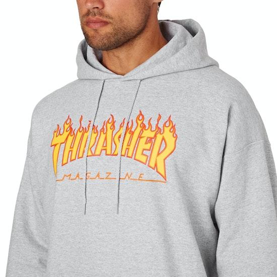 Thrasher Flame Logo Pullover Hoody