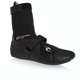 Rip Curl Flashbomb 5mm Split Toe Wetsuit Boots - Black