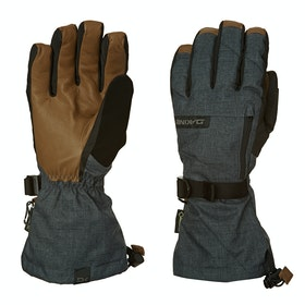 Gants de ski Dakine Leather Titan - Carbon