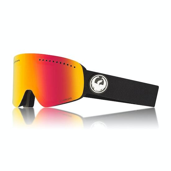 Dragon NFX Black Snow Goggles