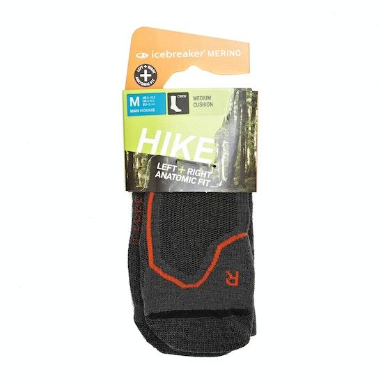 Icebreaker Mens Hike Medium Crew Walking Socks