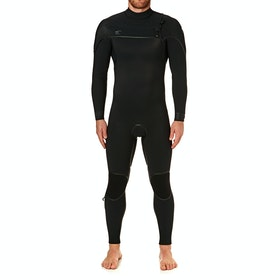 O'Neill Psycho One 5/4mm Chest Zip , Våtdräkt - Black/ Black