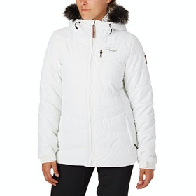 Protest Valdez Womens Snow Jacket - Seashell