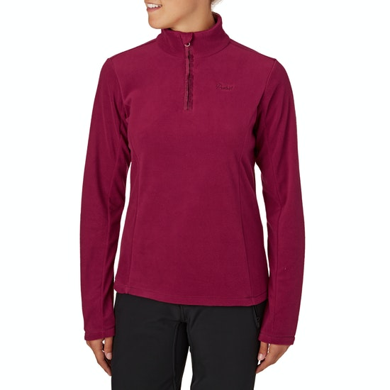 Protest Mutey Quarter Zip Ladies Fleece