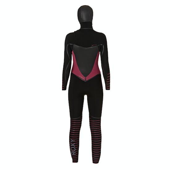 Roxy 5/4/3mm 2018 Syncro Plus Hooded Chest Zip Ladies Wetsuit