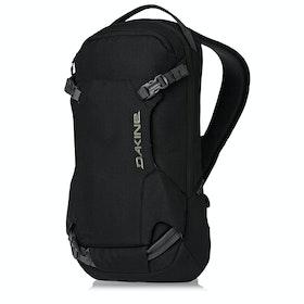Dakine Heli Pack 12L Snow Backpack - Black