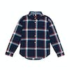 Joules Lachlan Boys Shirt - French Navy Tartan