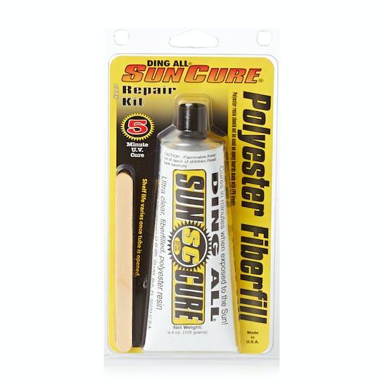 Ding All 8 Pk Sun Cure Polyester Fibrefill Kit 4oz Surf Repair
