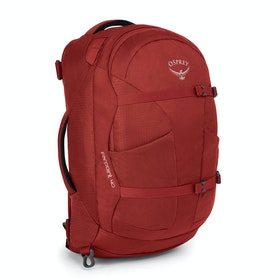 Osprey Farpoint 40 Backpack - Jasper Red