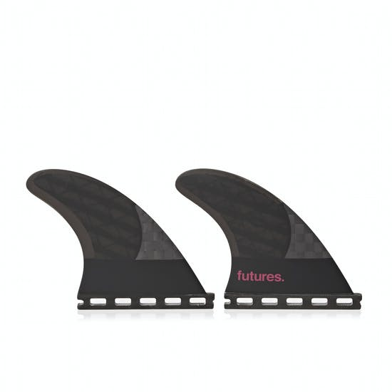 Futures QS2 4.15 8020 Blackstix 3.0 Quad Rear Fin