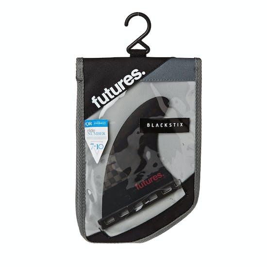 Futures QS2 4.15 8020 Blackstix 3.0 Quad Rear Fin