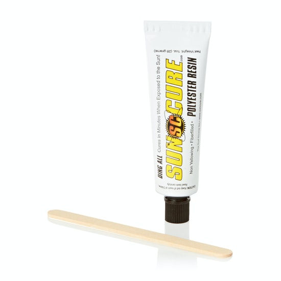 Ding All Sun Cure 1oz Polyester Fibrefill Kit for Surf Repair