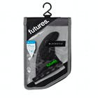 Futures QD2 4.0 8020 Blackstix 3.0 Quad Rear Fin