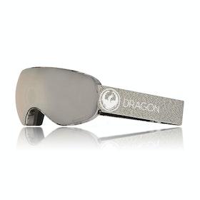 Dragon X2S Mill Snow Goggles - Lumalens Silver Ionized
