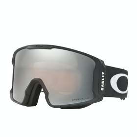 Oakley Line Miner Snow Goggles - Matte Black ~ Prizm Black Iridium