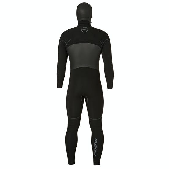 C-Skins 6-5mm 2018 Hotwired Hooded Chest Zip Wetsuit