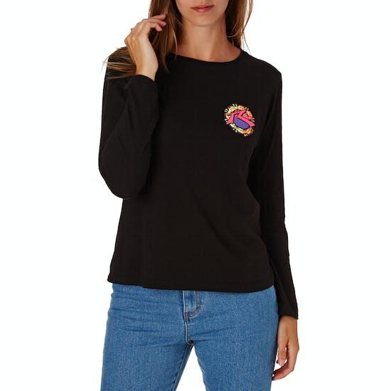 Rusty Mayan 3 Ladies Long Sleeve T-Shirt