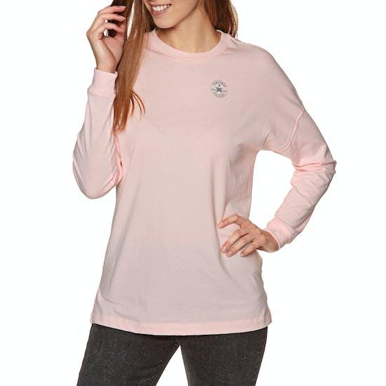 Converse Shine Ladies Long Sleeve T-Shirt