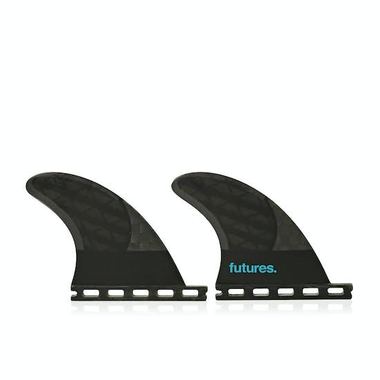 Futures QD2 3.75 8020 Blackstix 3.0 Quad Rear Fin