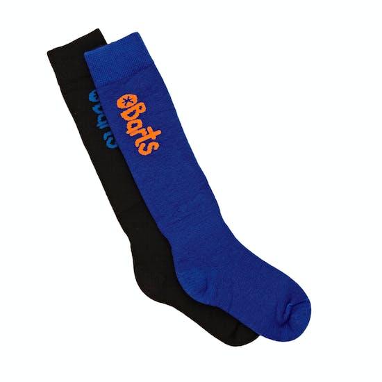 Barts Basic 2 Pack Boys Snow Socks