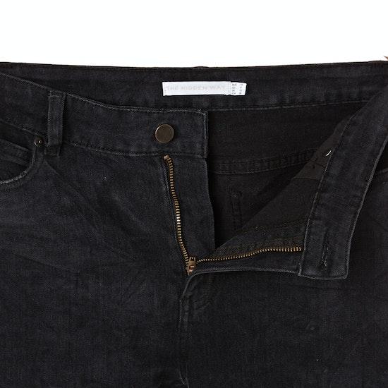 The Hidden Way Ava Highwaist Slim Fit Womens Jeans