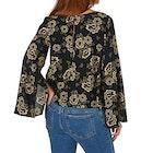 The Hidden Way Louisa Split Sleeve Blouse Ladies Top