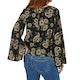 The Hidden Way Louisa Split Sleeve Blouse Damen Top