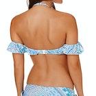 Seafolly Bazaar Cold Shoulder Bandeau Bikini Top