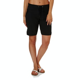 Seafolly High Water Womens Boardshorts - Black