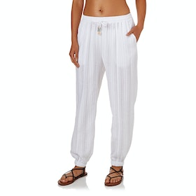 Seafolly Washed Dobby Beach Womens Trousers - White
