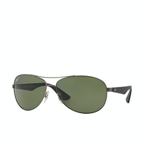 Ray-Ban RB3526 Sunglasses - Matte Gunmetal