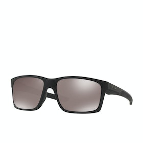 Oakley Mainlink Polarised Sunglasses - Matte Black ~ Prizm Black
