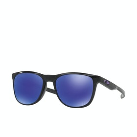 Oakley Trillbe X Polarised Sunglasses - Matte Black Ink ~ Violet Iridium