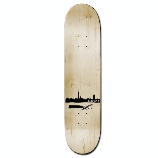Element Phil Zwijsen Hand Werpen 8.375 Inch Skateboard Deck