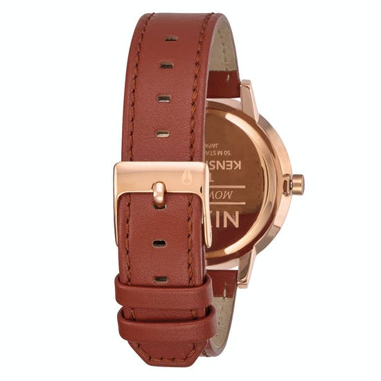 Nixon Kensington Leather Pack Ladies Watch