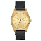 Nixon Medium Time Teller Leather Ladies Watch
