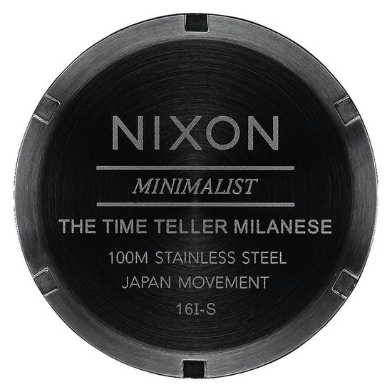 Nixon Time Teller Milanese Ladies Watch