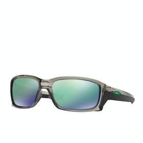 Oakley Straightlink Sunglasses - Grey Ink ~ Jade Iridium