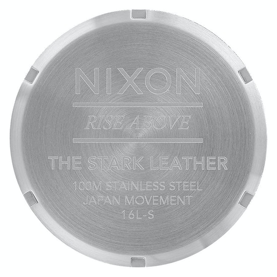 Nixon Stark Leather Watch